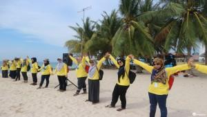 Corporate Outbound Pulau Belitung UIP JBT II