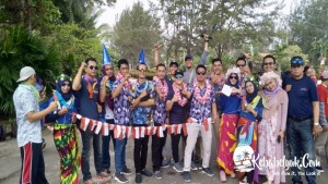 Outbound Bangka - Dokumentasi Outbound Bank Indonesia Perwakilan Bangka Belitung