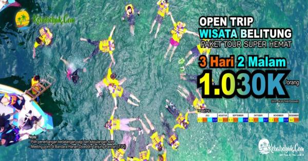 Open Trip Belitung 2019