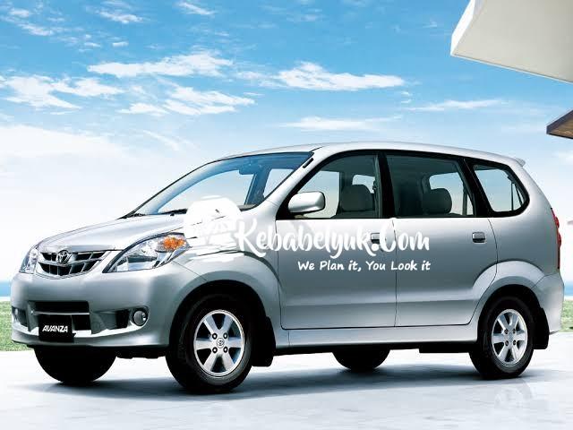 Toyota Avanza 2012 Lepas Kunci